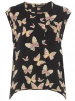 Colorful printed top like Lilys at Dorothy Perkins