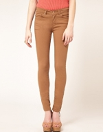 Camel jeans like Robins at Asos