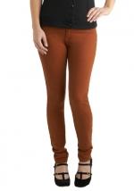 Tan jeans like Robins at Modcloth