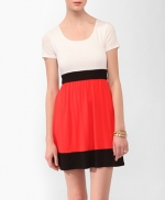 Colorblocked dress like Spencers at Forever 21