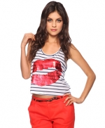 Lips print tee at Forever 21