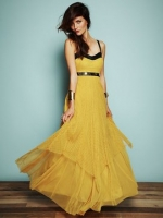 Spencer's yellow dress at Free People