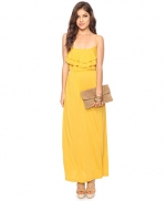 Yellow maxi dress like Spencers at Forever 21