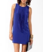 Blue fringe dress like Hannas at Forever 21