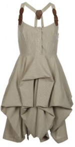 Aria's buckle strap dress at All Saints