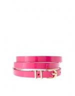 Pink skinny belt like Hannas at Asos