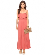 Rose colored maxi dress at Forever 21