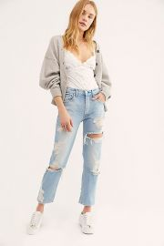 3x1 Higher Ground Crop Jeans at Free People