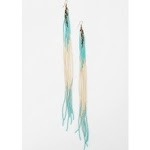 Hannas blue fringe earrings at Urban Outfitters