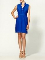 Aria's cobalt blue dress at Piperlime