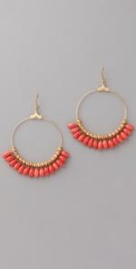 Hoop earrings like Hannas at Shopbop