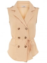 Vest style top at Dorothy Perkins