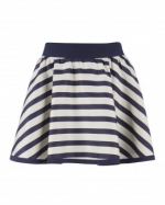 Jane's striped skirt at Ted Baker