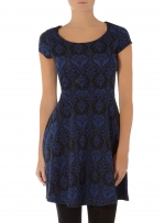 Black and blue dress like Arias at Dorothy Perkins