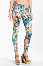 Floral jeans like Hannas at Nordstrom
