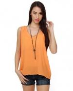 Orange tank top like Hannas at Lulus