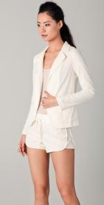 White lace blazer like Ceces at Shopbop