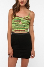 Hanna's bustier top at Urban Outfitters