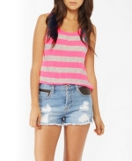 Pink striped tank top like Emilys at Forever 21