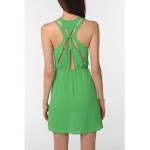 Aria's green dress at Urban Outfitters