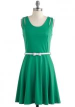 Green dress like Arias at Modcloth