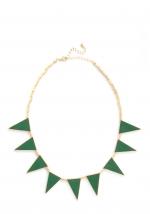 Similar green necklace at Modcloth