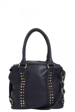 Black studded bag like Hannas at Boohoo