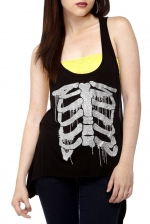 Ribcage tank top like Arias at Amazon