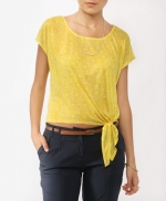 Yellow tie front top like Emilys at Forever 21