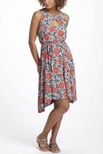Aria\'s floral dress at Anthropologie