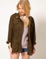 Olive green jacket like Spencers at Asos