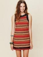 Hanna's striped dress at Free People