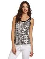 Silver sequin top at Amazon