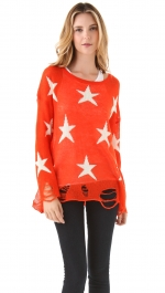 Mindy's red star sweater at Shopbop