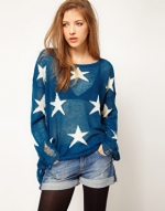 Same sweater in blue at Asos