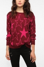 Star sweater at Urban Outfitters