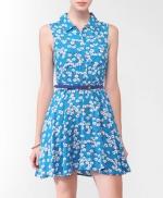 Blue shirtdress like Magnolias at Forever 21