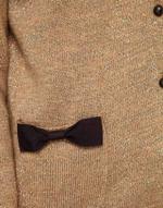 Bow pocket cardigan at Asos
