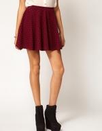 Dark red skirt like Rachels at Asos