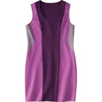 Purple shift dress at Target