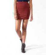 Burgundy skirt like Rachels at Forever 21