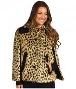 Sugar's cheetah coat at Zappos