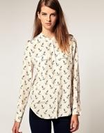 Same blouse in white at Asos