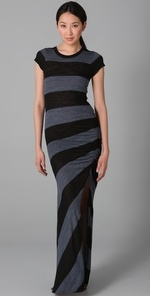 Robin's striped maxi dress from HIMYM at Shopbop
