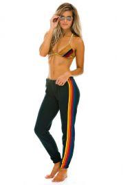 5 Stripe sweatpants at Aviator Nation
