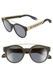 50mm Round Sunglasses by Givenchy at Nordstrom