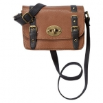 Brown and black crossbody bag at Target