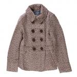 Brown tweed coat at Target
