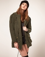 Olive jacket like Robins at Asos