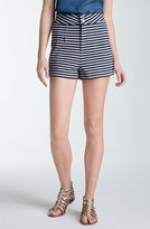 Marc Jacobs stripe shorts at Nordstrom